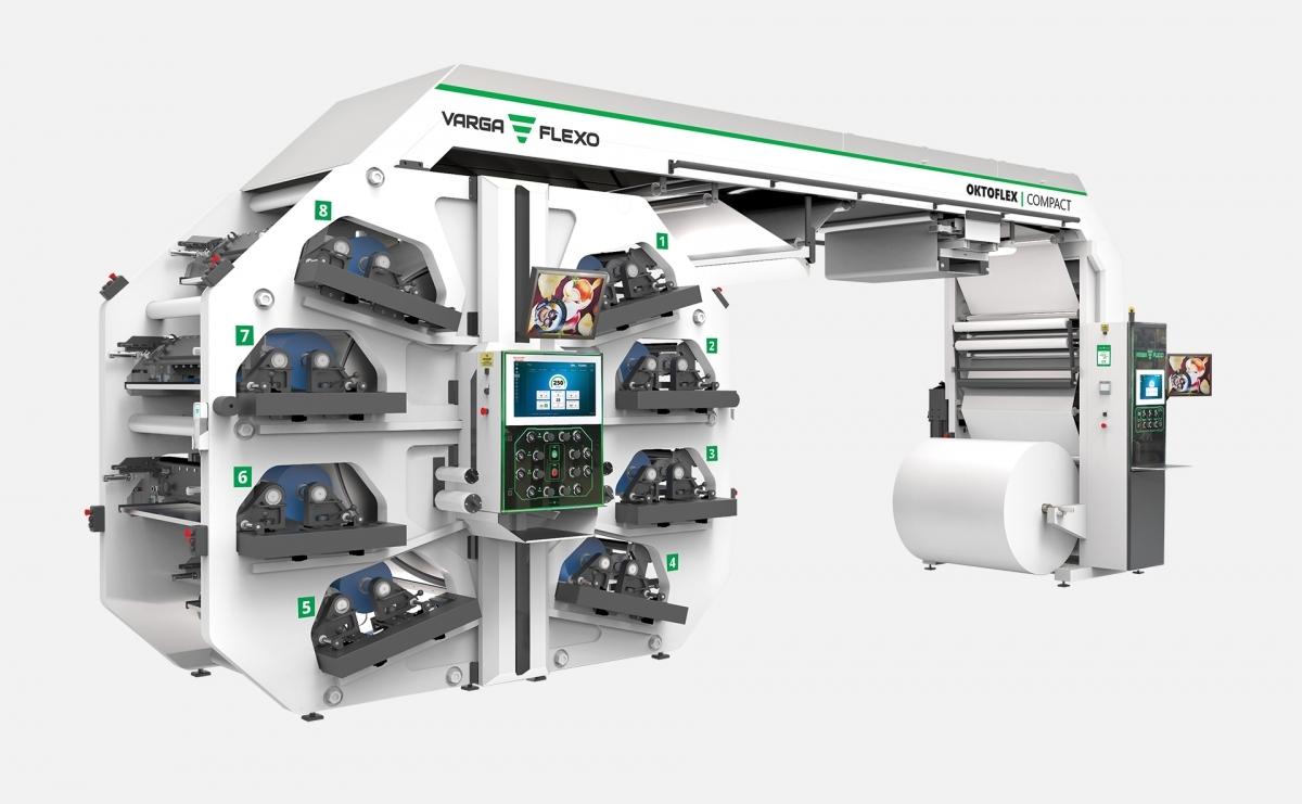 Flexonyomógépek, tekercsvágók, laminálók gyártása | Flexodruckwerk