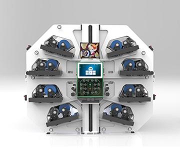 Flexonyomógépek, tekercsvágók, laminálók gyártása | Acht Farben - Zentrales Gegendrucksystem