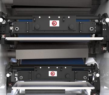 Flexonyomógépek, tekercsvágók, laminálók gyártása | Komory raklowe i zespół nanoszenia farby