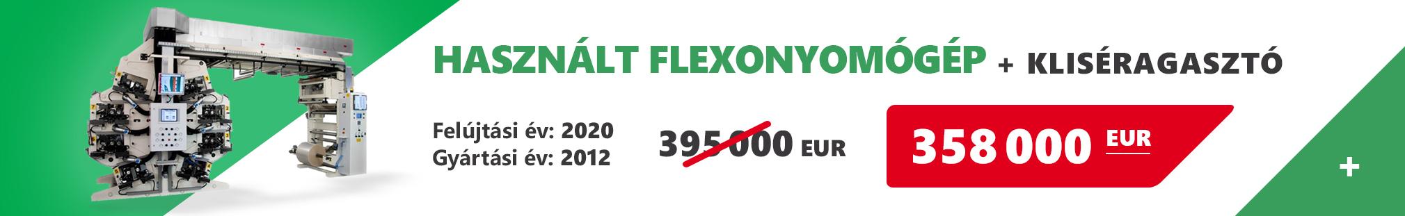 Flexonyomógépek, tekercsvágók, laminálók gyártása | Hírlevél