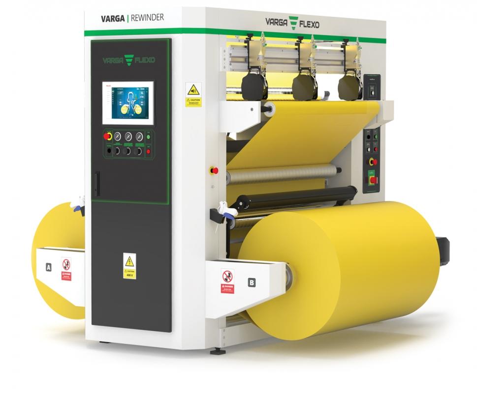 Flexonyomógépek, tekercsvágók, laminálók gyártása   Przewijanie