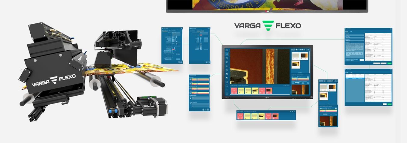 Flexonyomógépek, tekercsvágók, laminálók gyártása   Print Inspection