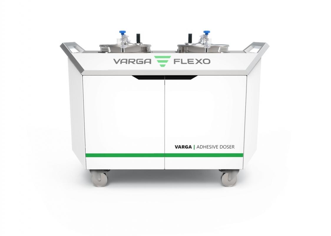 Flexonyomógépek, tekercsvágók, laminálók gyártása   Adhesive dosing